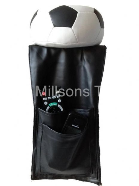 Football Lovers Armchair Drink & Remote Control Holder